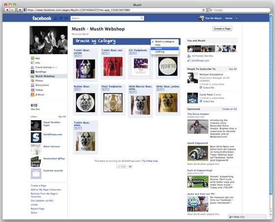 SolidShop Facebook Store