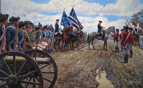 Awesome War and Battlefield Paintings