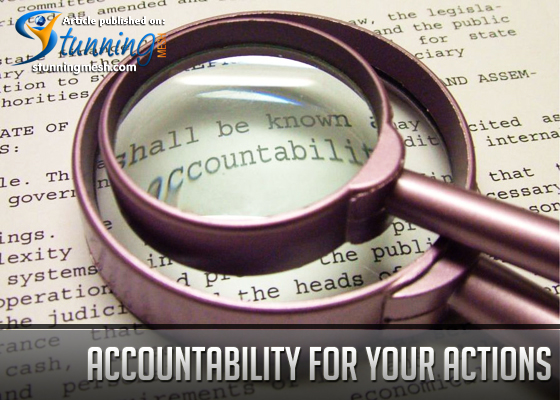 Accountability for Your Actions