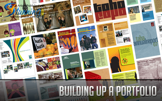 Building up a Portfolio in Freelance Business