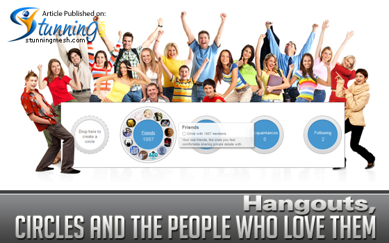 Hangouts, Circles and the People Who Love Them