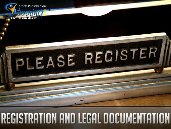 Registration and Legal Documentation