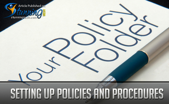 Setting up Policies and Procedures