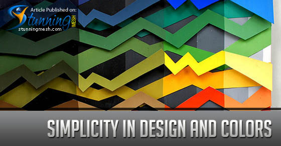 Simplicity in Design and Colors
