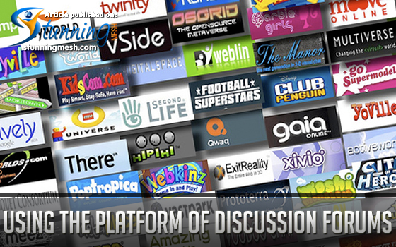 Using the Platform of Discussion Forums