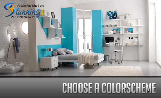 Wonderful ways to decorate a teen s room with really tiny space - Choose color scheme every room ...