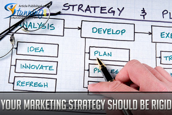 Your Marketing Strategy Should Be Rigid