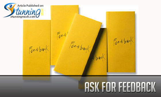 Ask for Feedback as a Designer