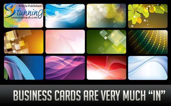 Your Protocol to Increase the Outcome from the Business Cards