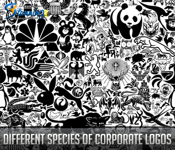 Different Species of Corporate Logos
