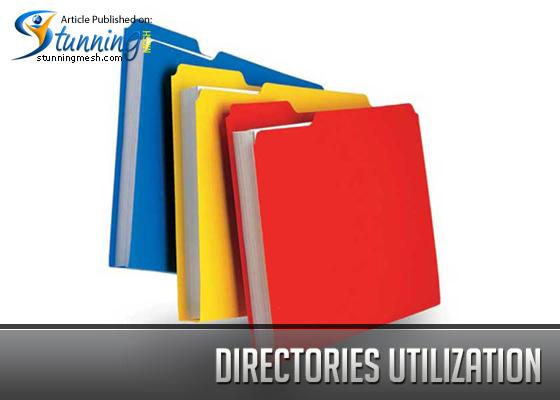 Directories utilization