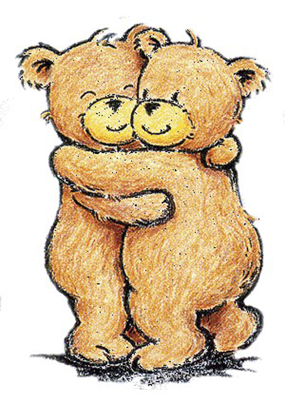 Love Hug on Valentines Day