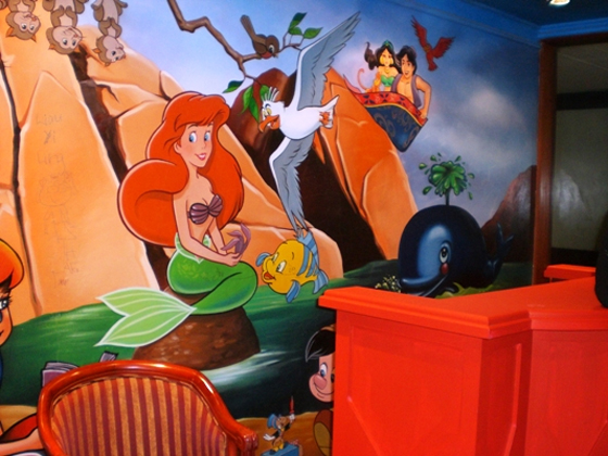 Paint & Wall art to Decorate Kids Room