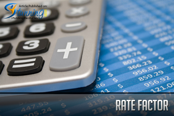 Rate Factor