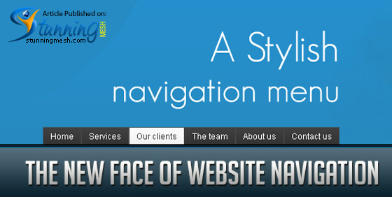 The New Face of Website Navigation