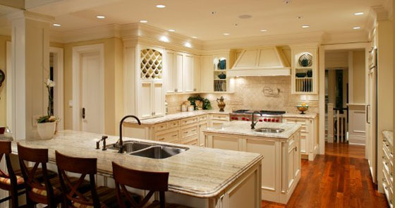 A multi-purpose family kitchen