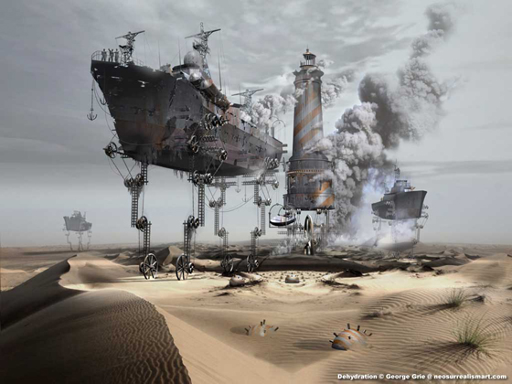 Nice examples of Digital Surrealism and Design Art