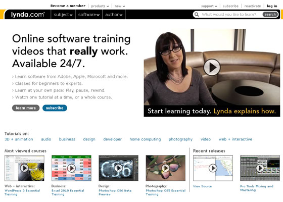 Lynda - Learning Website Design