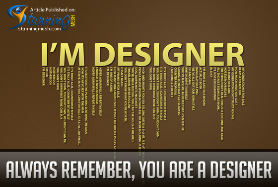 Demanding Client - Always remember, you are a Designer