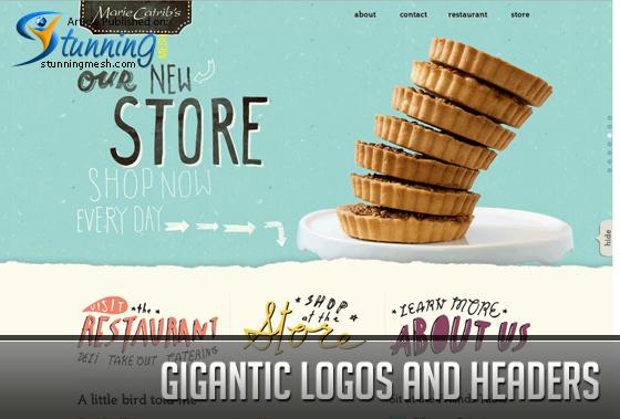 Gigantic Logos and Headers