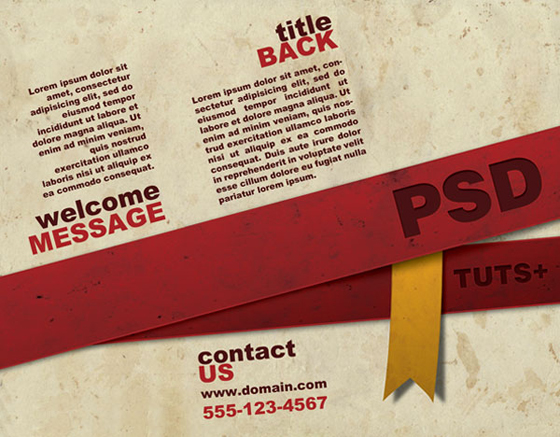 Design a Ready to Print Brochure in Photoshop