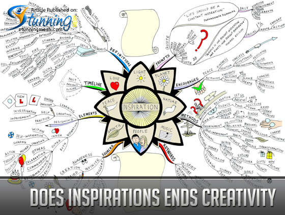 Does Inspirations Ends Creativity