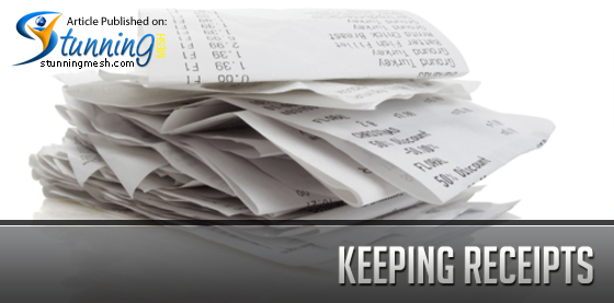 Keeping Receipts