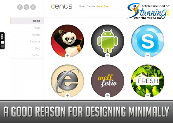 Minimal Web Design - A Good Reason for Designing Minimally