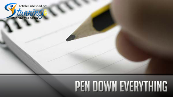 Design Industry - Pen down Everything