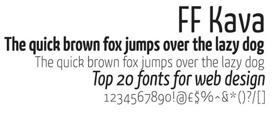 Employ Web Fonts