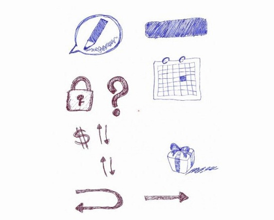 Doodles And Sketches Vector