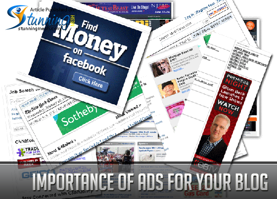 Importance of Ads for Your Blog
