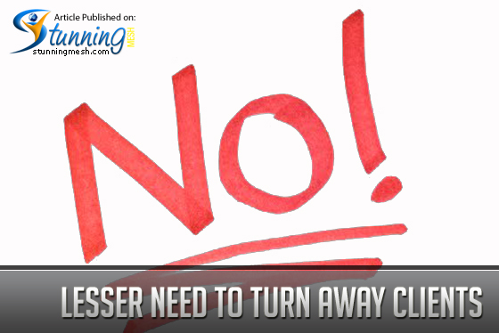 Lesser Need to Turn Away Clients - Outsourcing for Designers