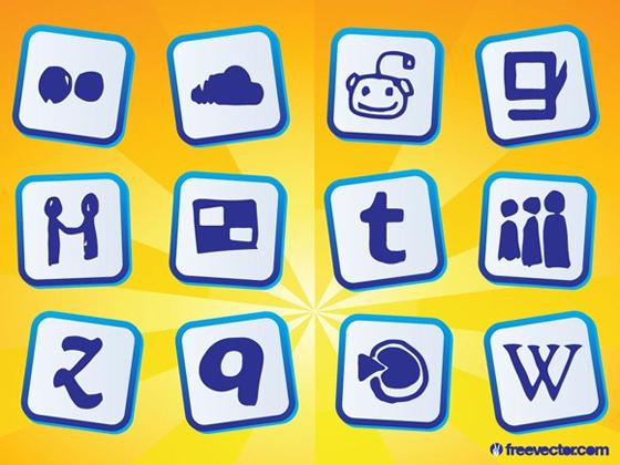 Social Media Doodles