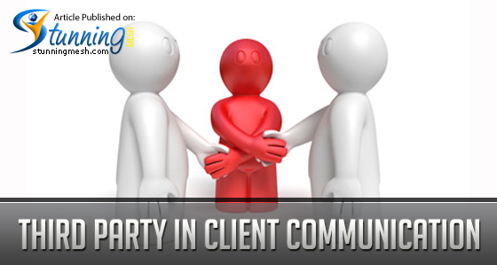 Third Party in Client Communication