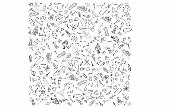 Xmas Doodles Vector