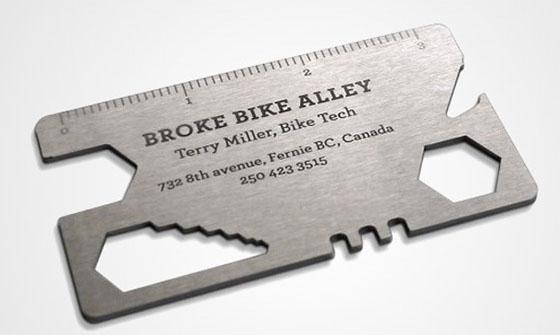 Bike Tool - Business Card Designs