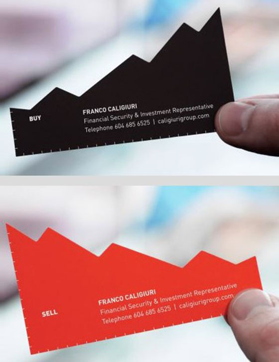 Business Card Designs- Chart