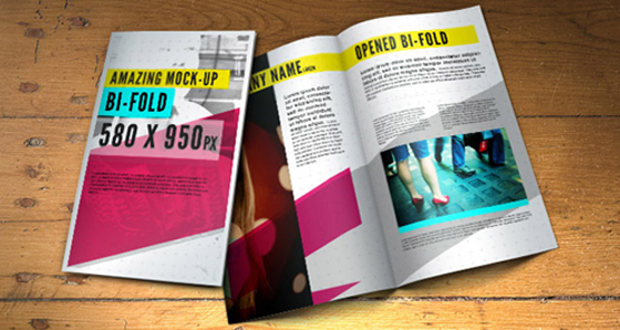 10 free indesign templates for Bi fold brochure template indesign free