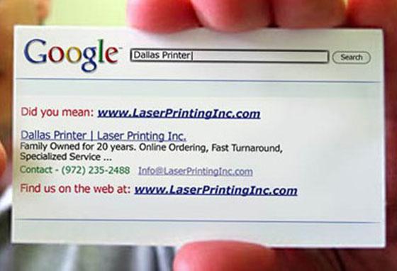 Google It - Business Card Designs