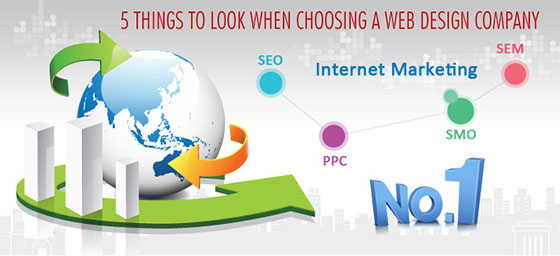 5 Things to Look When Choosing a Web Design Company