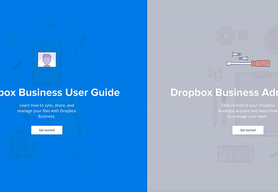 The Dropbox Guide - Websites