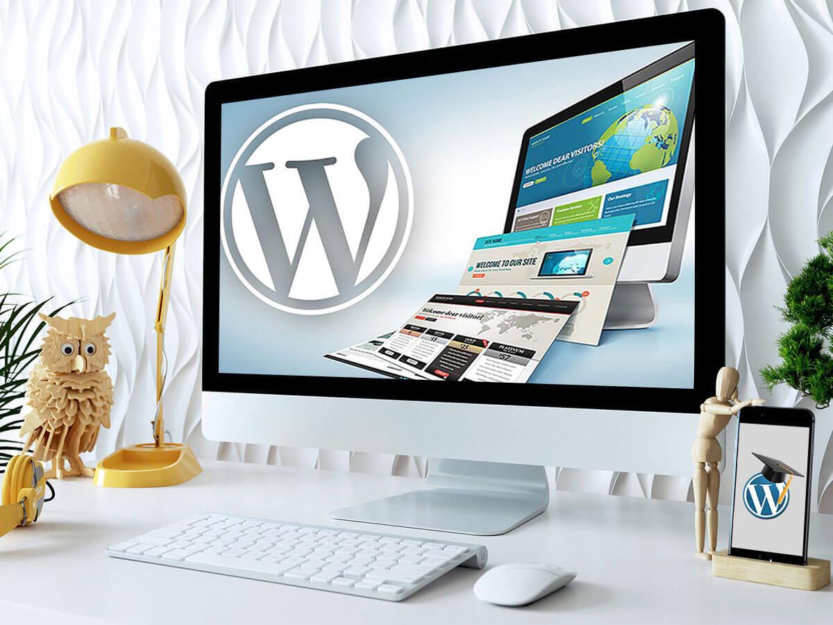Quick wordpress website