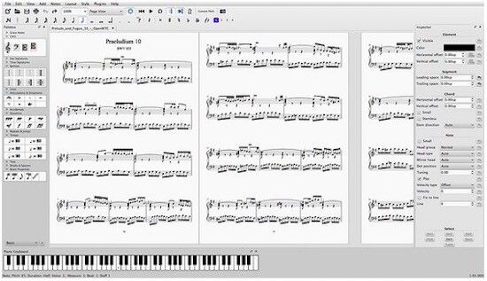 MuseScore (Windows,MAC) - Beat Making Software
