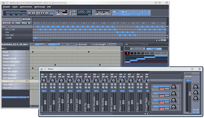Hydrogen (Windows And MAC OS) - Beat Making Software