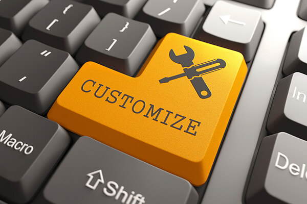 Customize your Website Properly
