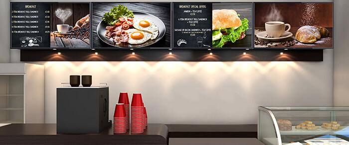 Designing a Website & Digital Signage for a Restaurant Business