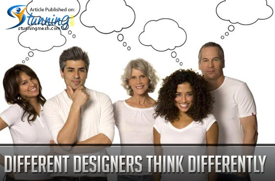 Different Designers Think Differently