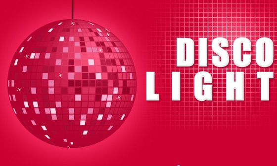 Disco Lights in Adobe Illustrator