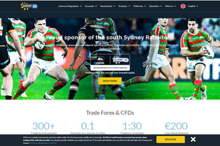Forex & CFD Trading – EuropeFX Review 2019